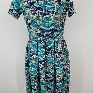 LulaRoe Dress101419-2 D4
